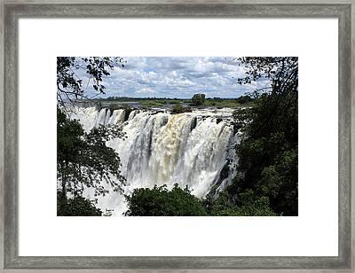 Victoria Falls View  Framed Print by Aidan Moran