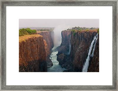 Victoria Falls, Zambia Framed Print by Peter Adams