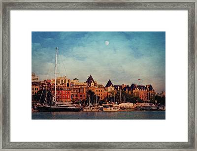 Victoria Historic Buildings  Framed Print by Maria Angelica Maira