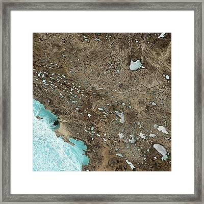 Victoria Island Framed Print