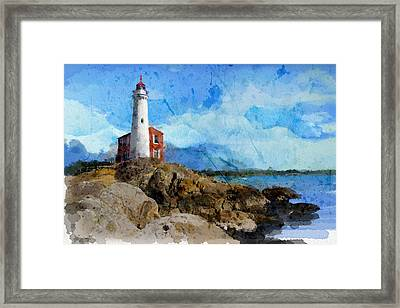 Victoria Scenery 1 Framed Print by Mahnoor Shah