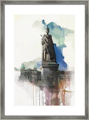 Victoria Scenery 5b Framed Print by Mahnoor Shah