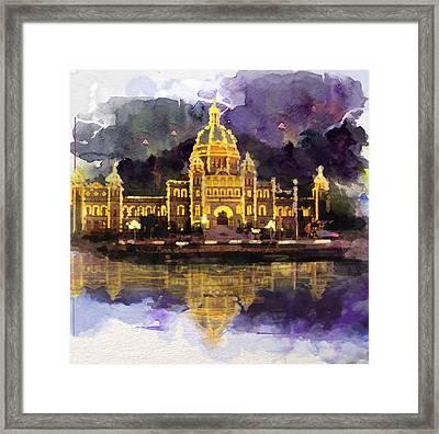Victoria Scenery 6b Framed Print by Mahnoor Shah