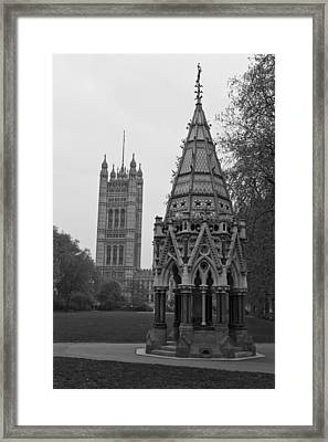 Framed Print featuring the photograph Victoria Tower Garden by Maj Seda