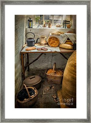 Victorian Bakers Framed Print by Adrian Evans