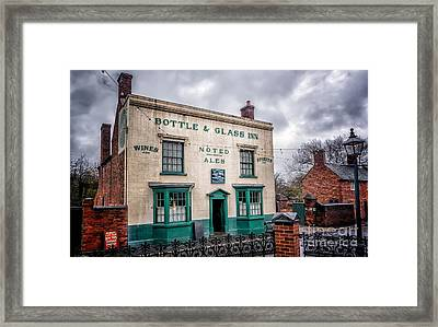 Victorian Bar Framed Print by Adrian Evans