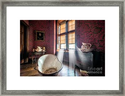 Victorian Bathroom Framed Print by Adrian Evans