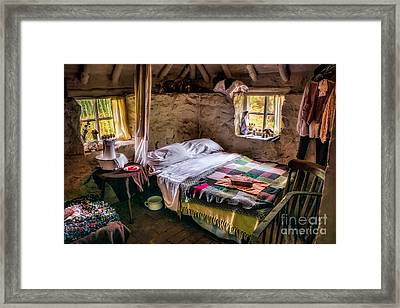 Victorian Bedroom Framed Print by Adrian Evans