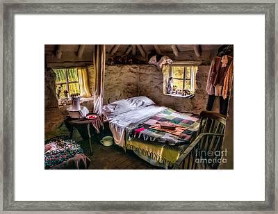 Victorian Bedroom Framed Print