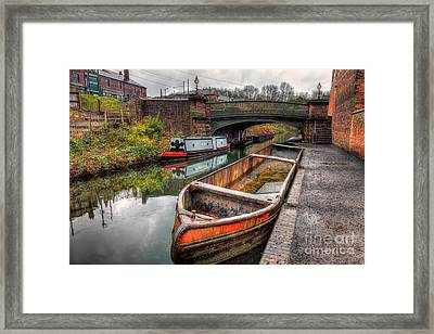 Victorian Canal Framed Print by Adrian Evans