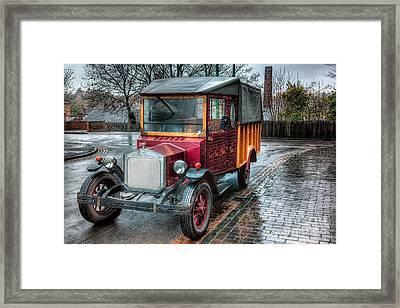 Victorian Car Replica  Framed Print by Adrian Evans