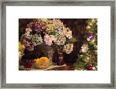 Victorian Christmas Framed Print by Patricia Babbitt
