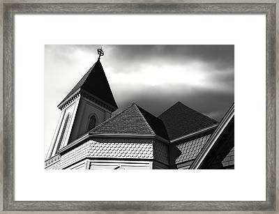 Victorian Church Framed Print by Larry Butterworth