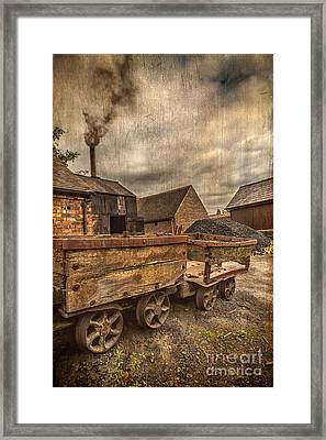Victorian Colliery Framed Print by Adrian Evans