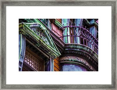 Victorian Color Framed Print