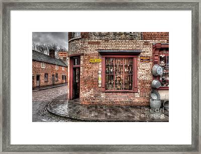 Victorian Corner Shop Framed Print