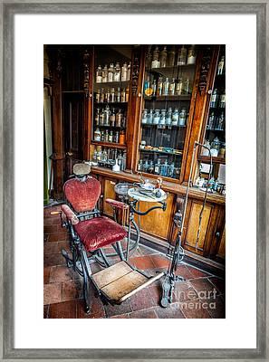Victorian Dentist Framed Print by Adrian Evans