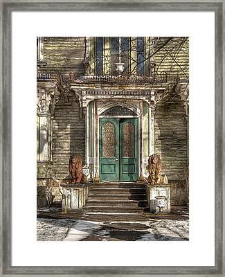 Victorian Entry Framed Print