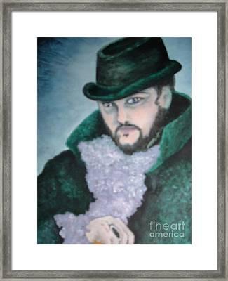 Victorian Gentleman Framed Print