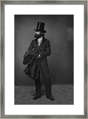Victorian Gentleman William Sidney Mount C. 1853 Framed Print