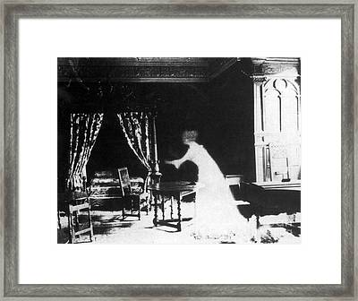 Victorian Ghost 19th Century Framed Print