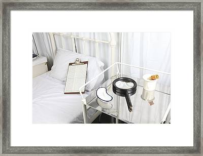 Victorian Hospital Framed Print by Science Photo Library