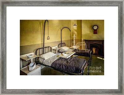 Victorian Hospital Ward Framed Print by Adrian Evans