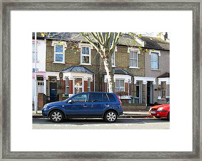 Framed Print featuring the photograph Victorian House by Helene U Taylor