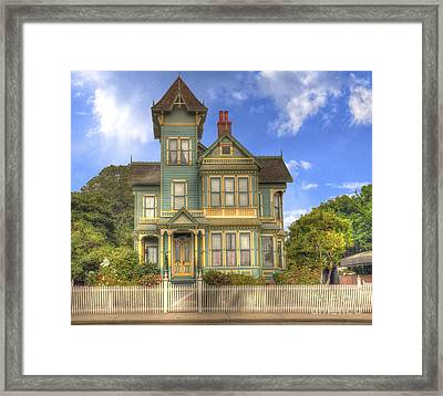 Victorian House Framed Print