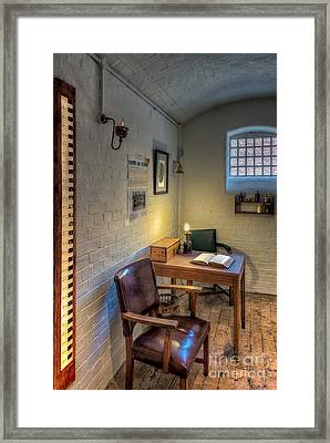Victorian Jail Office Framed Print by Adrian Evans