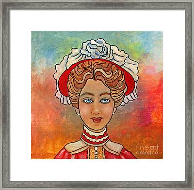 Victorian Lady-a Framed Print