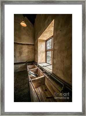 Victorian Laundry Room Framed Print