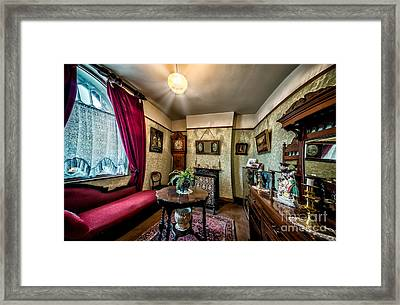 Victorian Lounge Framed Print by Adrian Evans