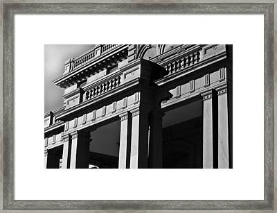 Victorian Mansion Framed Print by Larry Butterworth