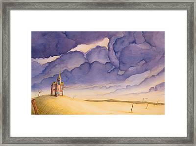 Victorian Meadows I Framed Print by Scott Kirby