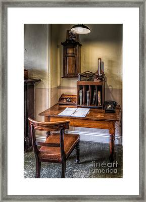 Victorian Medical Office Framed Print by Adrian Evans