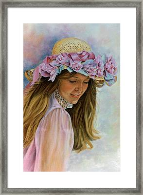 Framed Print featuring the painting Victorian Memories by Ann Peck