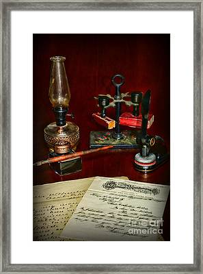 Victorian Office Framed Print by Paul Ward