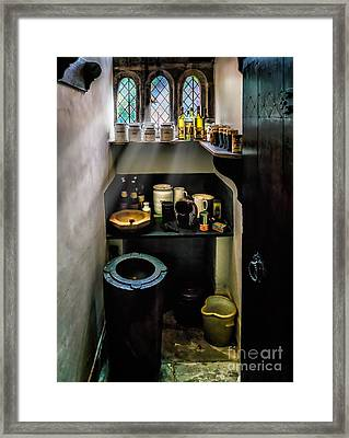 Victorian Pantry Framed Print by Adrian Evans