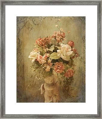 Victorian Rose Floral Framed Print