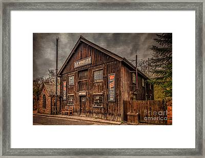 Victorian Sawmill Framed Print by Adrian Evans