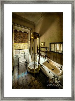 Victorian Shower Framed Print by Adrian Evans