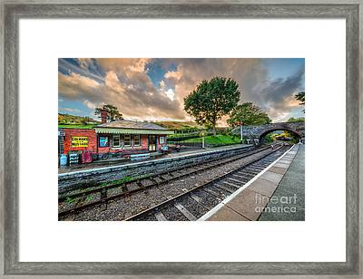 Victorian Station Framed Print by Adrian Evans
