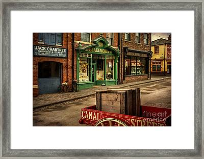 Victorian Town Framed Print