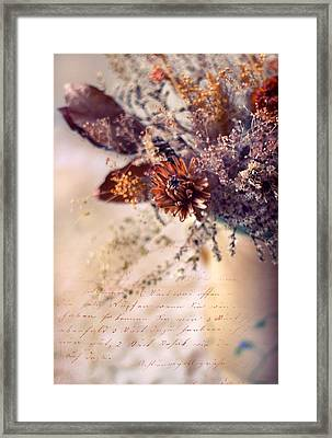 Victorian Treatment Framed Print by Jessica Jenney