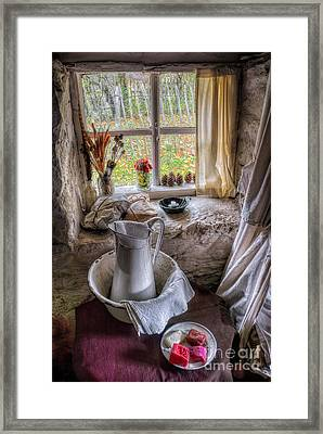 Victorian Wash Area Framed Print by Adrian Evans