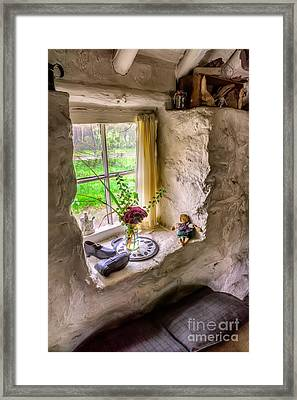 Framed Print featuring the photograph Victorian Window by Adrian Evans