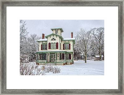 Victorian Winter Framed Print