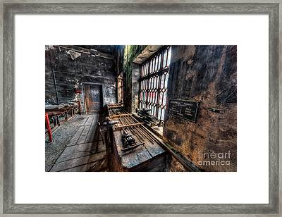 Victorian Workshops Framed Print by Adrian Evans