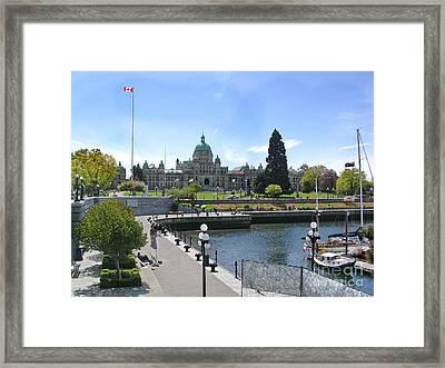 Victoria's Parliament Buildings Framed Print